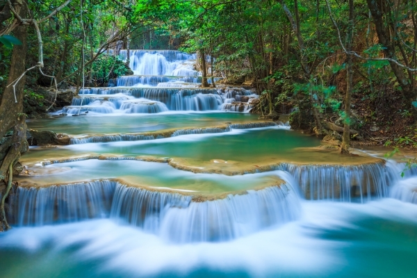 Image of a stream to symbolize adding new passive income streams to your business using affiliate marketing, print on demand, and other ideas.